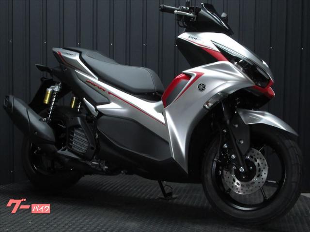 AEROX155 MY2021 最新ABSモデル マットシルバーカラー