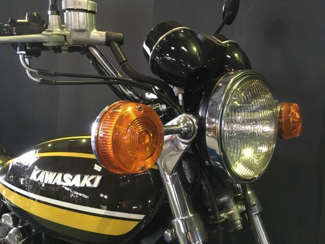カワサキ KZ900 Z1STYLE ブラックエンジン 黒集合の画像(兵庫県