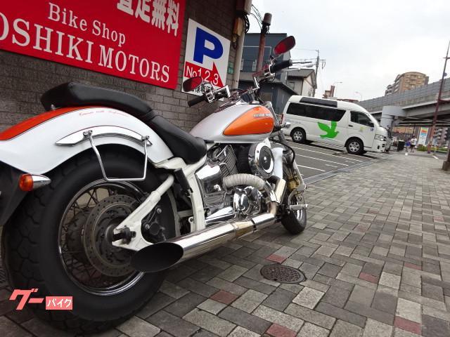 ヤマハ ドラッグスター1100 マフラーの画像(福岡県