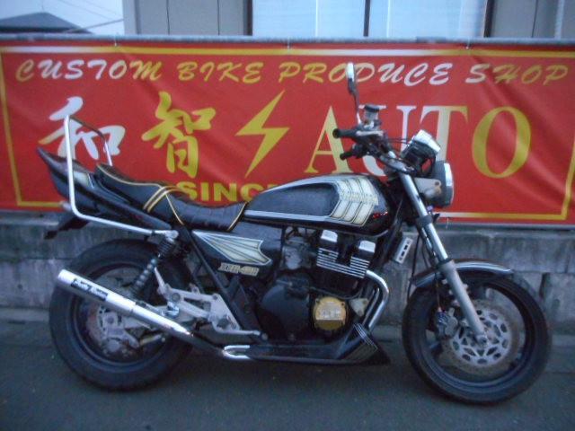 ヤマハ XJR400  NEWボカシレインボーフペイント エナメルタックロールシートの画像(福岡県
