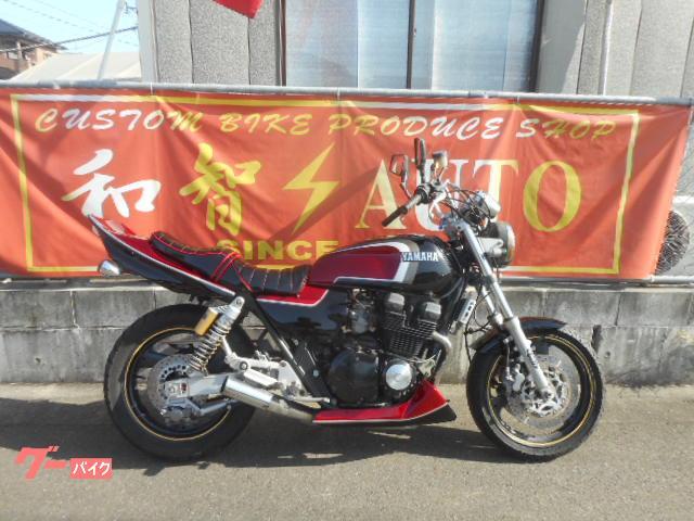 ヤマハ XJR400 アップハン タックロールシートカスタムの画像(福岡県