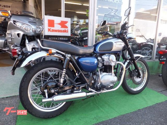 カワサキ W650 マフラー グリップヒーター ワンオーナーの画像(佐賀県