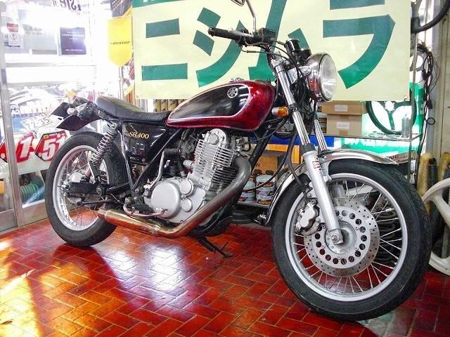 ヤマハ SR400 カスタムの画像(佐賀県