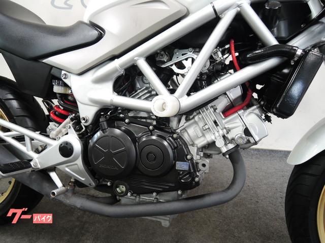 ホンダ VTR250 ホワイト エンジンスライダー グーバイク鑑定車の画像(福岡県