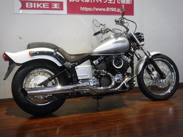 ヤマハ ドラッグスター400 セキュリティ カスタムマフラー グーバイク鑑定車の画像(福岡県