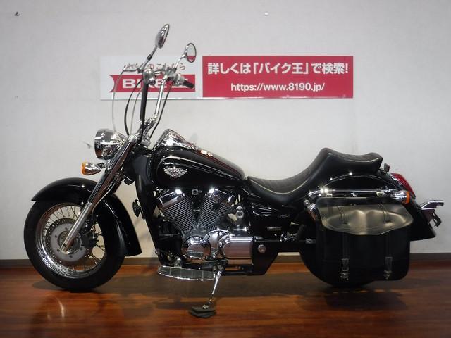 ホンダ シャドウ750 サドルバック ハンドルカスタム フィッシュテールマフラーの画像(福岡県