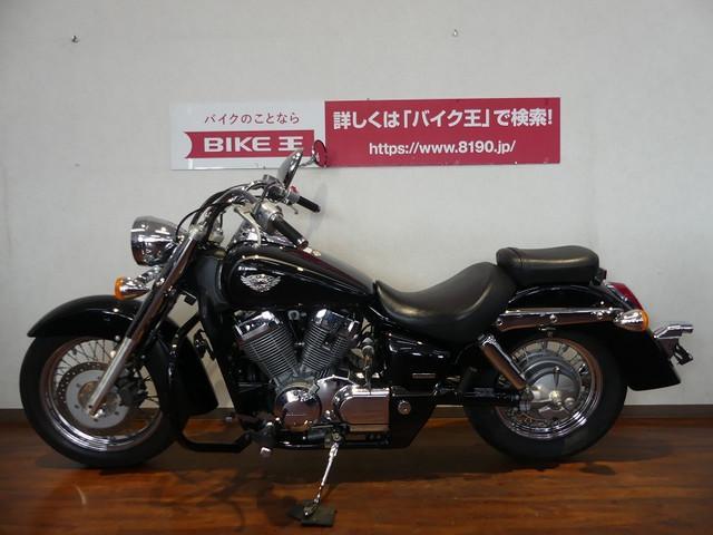 ホンダ シャドウ750 エンジンガード カスタムマフラー グーバイク鑑定車の画像(福岡県