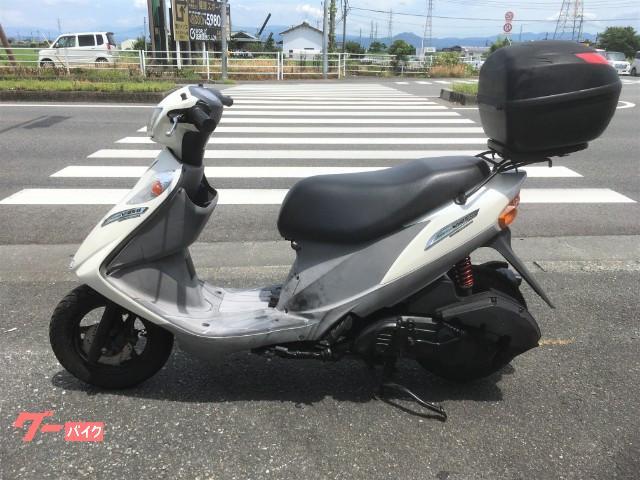 スズキ アドレスV125G リアボックス付きの画像(熊本県