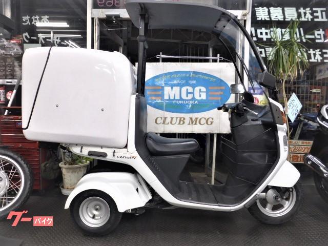 ジャイロキャノピー JMSリア大型ラック付きBOX 4サイクルエンジン FIインジェクションモデル