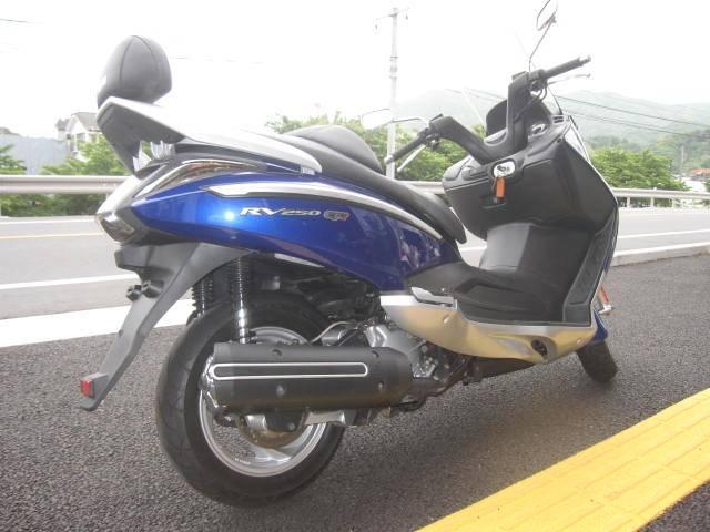 SYM RV250EFiの画像(長崎県