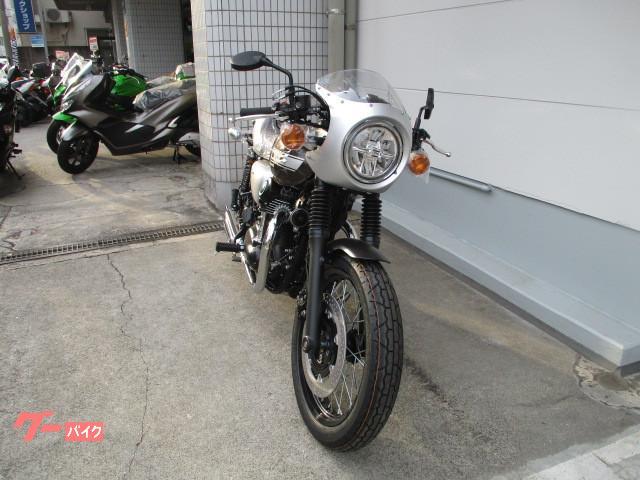 カワサキ W800 カフェ ETC2.0 セパレートハンドル アシスト&スリッパークラッチの画像(鹿児島県