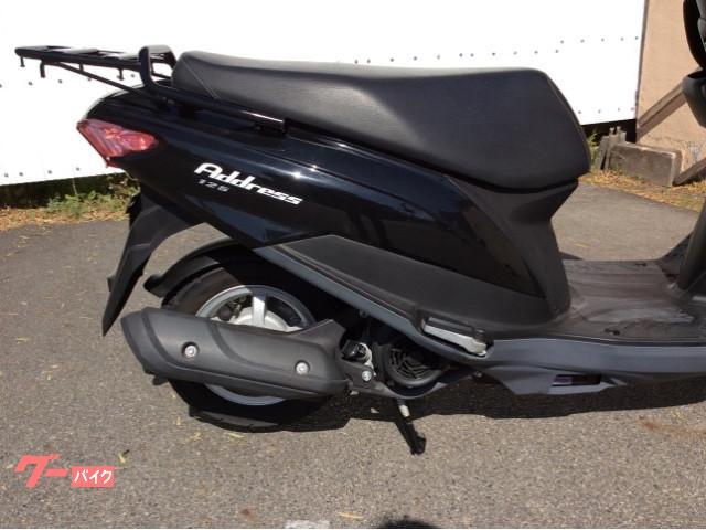 スズキ アドレス125 フラットシート グーバイク鑑定車の画像(鹿児島県