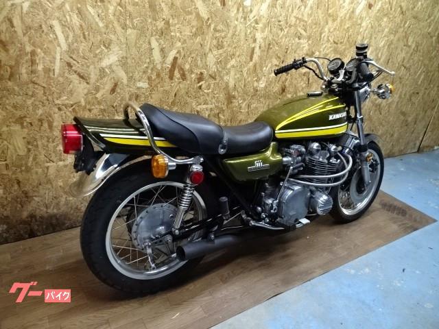 カワサキ Z-I 前後アルミワイドリム CRキャブ グーバイク鑑定車の画像(長崎県