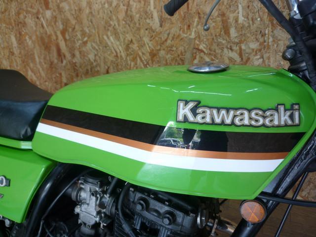 カワサキ Z250FT カスタムペイント UPハンドル 社外テールの画像(長崎県