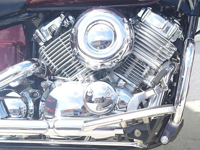 ヤマハ ドラッグスター400クラシック エンジンガード付きの画像(福岡県