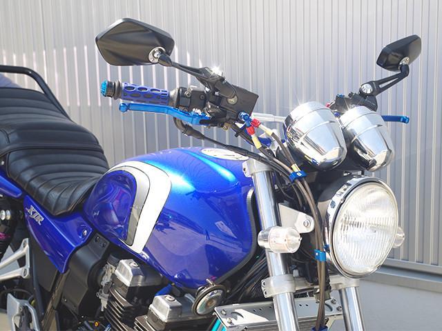 ヤマハ XJR400R マフラー オイルクーラー 他カスタム多数の画像(福岡県