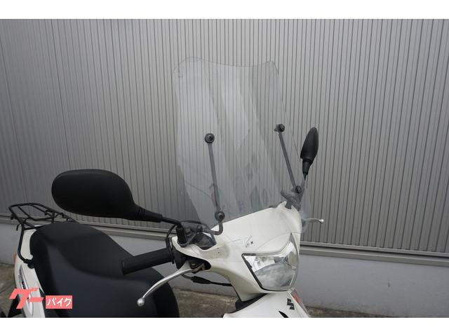 スズキ アドレスV125G CF4EA型 社外マフラー スクリーンの画像(福岡県