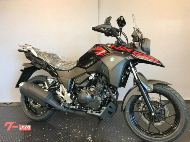 V−ストローム250 ABS 現行モデル DS11A パールネブラーブラック(YAY)