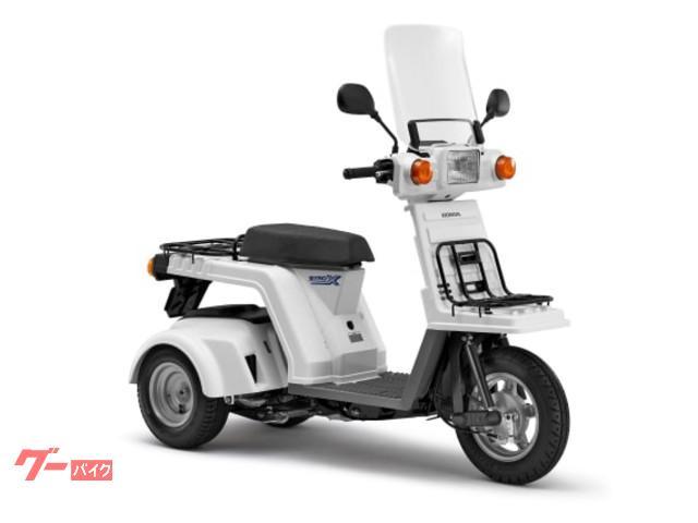 ジャイロXスタンダード 現行モデル TD02 ホワイト インジェクション