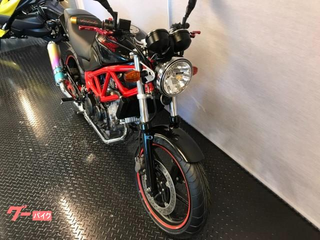 ホンダ VTR250 モリワキマフラー 前後タイヤ新品 カスタムレバー グーバイク鑑定車の画像(岡山県