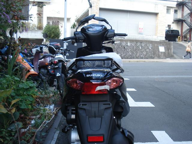 スズキ アドレス125 新型の画像(長崎県