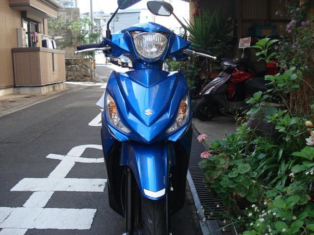 スズキ アドレス110 新色の画像(長崎県