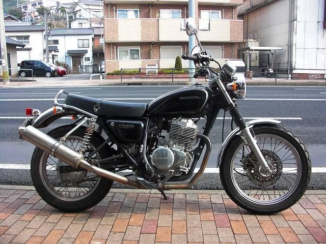 ホンダ CB400SS 社外マフラーの画像(長崎県