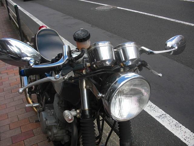 ヤマハ SR400 カスタムの画像(長崎県