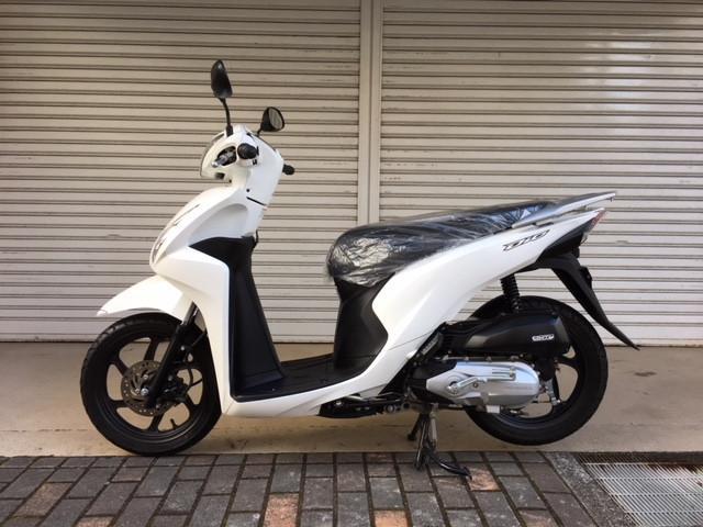 ホンダ Dio110 インジェクション車輌 ワンオーナーの画像(長崎県