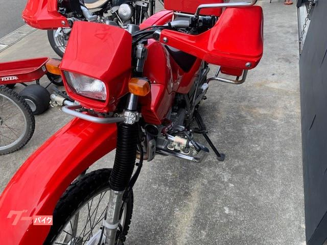 ヤマハ セロー225WE 赤バイ SG089J 消防仕様の画像(宮崎県