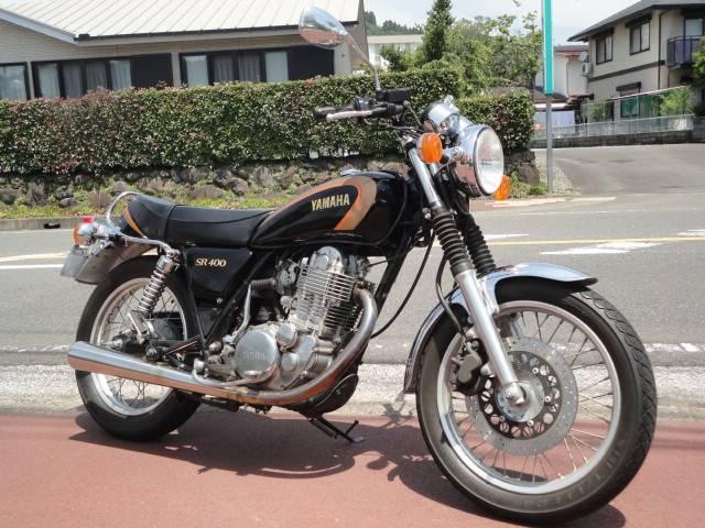 ヤマハ SR400 ノーマルパーツ有りの画像(宮崎県