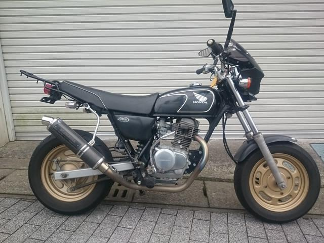 ホンダ Ape100DX ボアアップ ヨシムラマフラーの画像(鹿児島県