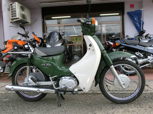 ホンダ スーパーカブ110 国内生産車の画像(山口県