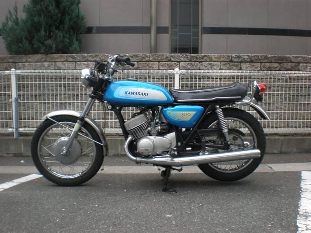 カワサキ 500SSマッハIIIの画像(福岡県