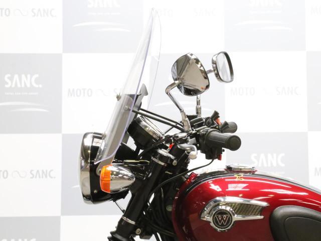 カワサキ W800 ETC スクリーン エンジンガードの画像(兵庫県