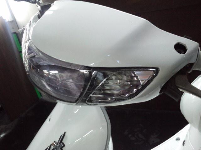 ホンダ ライブDio ZX LEDカスタム タイヤ前後新品の画像(福岡県
