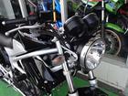 ホンダ VTR250 モリワキマフラー スポーツグリップヒーターの画像(佐賀県