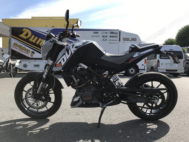 KTM 125デュークの画像(熊本県