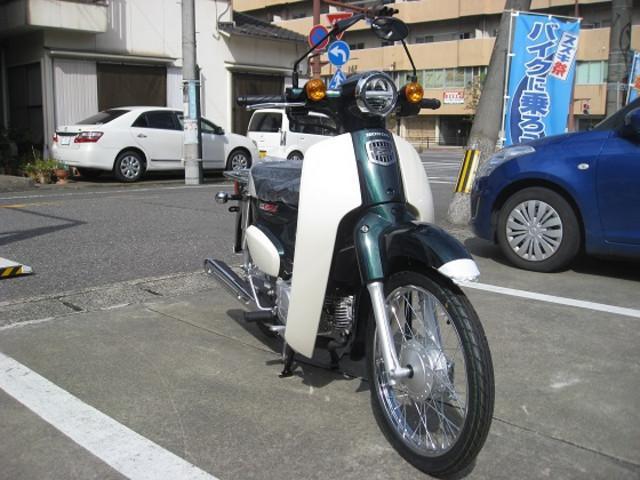 ホンダ スーパーカブ50の画像(大分県