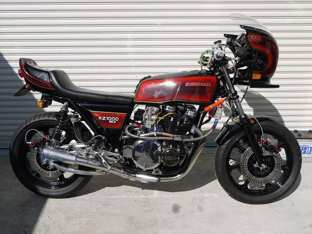カワサキ KZ1000MK-II フルカスタムの画像(福岡県