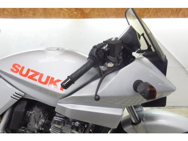 スズキ GSX250S KATANA ステンレスカーボンマフラーの画像(宮崎県