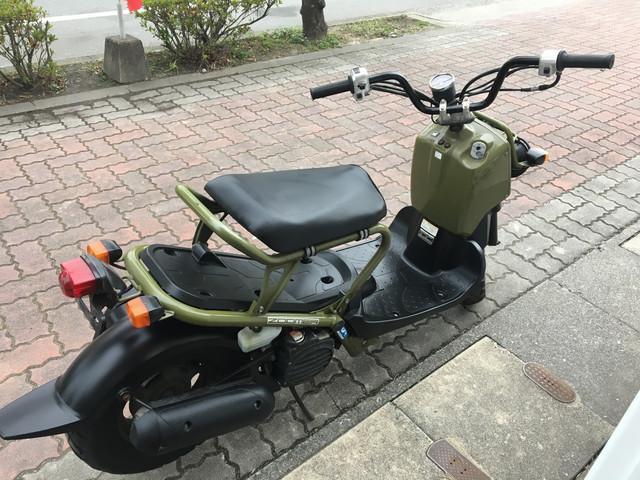 ホンダ ズーマー FI インジェクション 前後タイヤ新品の画像(福岡県