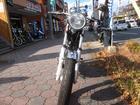 ヤマハ SR400 ファインカスタム 車検対応キャプトンタイプマフラー装着の画像(福岡県