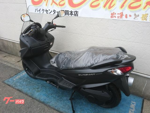 スズキ バーグマン200の画像(福岡県