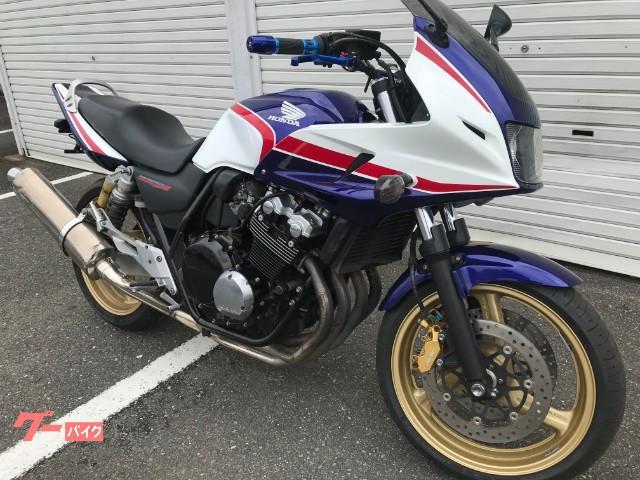 ホンダ CB400Super ボルドール  カスタムレバー・グリップの画像(福岡県