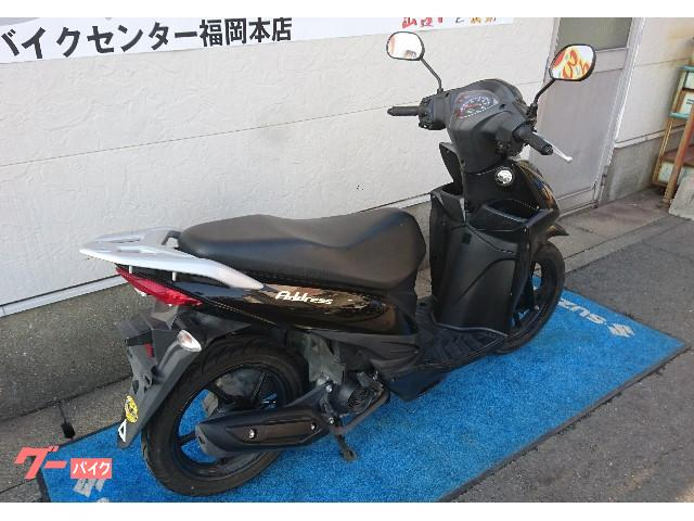 スズキ アドレス110 ワンオーナー車の画像(福岡県