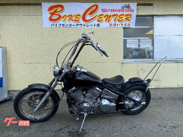 ヤマハ ドラッグスター400 マフラー ハンドル シート チョッパー風の画像(福岡県