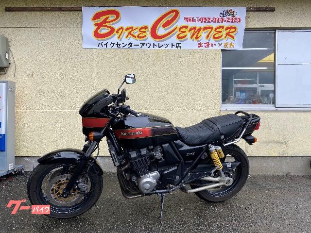 カワサキ ZRX400 ノジマフルエキ FXカラー 社外ビキニ タンデムの画像(福岡県