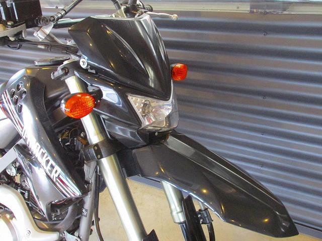 カワサキ Dトラッカー125 150ccボアアップ ライトカスタムの画像(長崎県