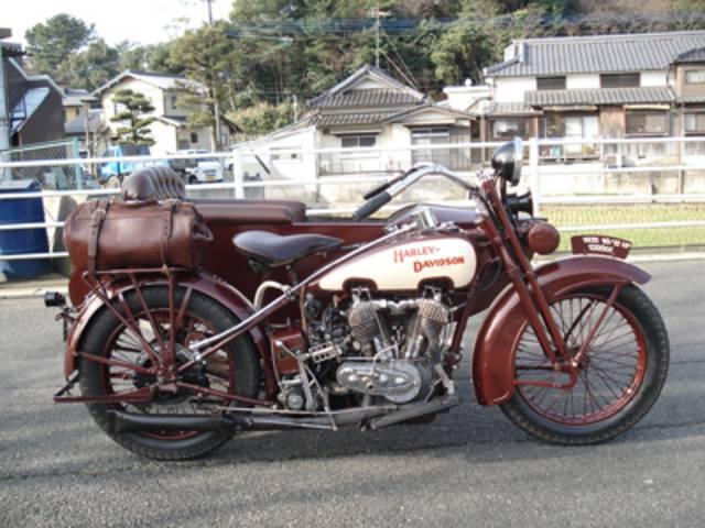 HARLEY-DAVIDSON FE-1200 サイドカー付き1925年式の画像(福岡県